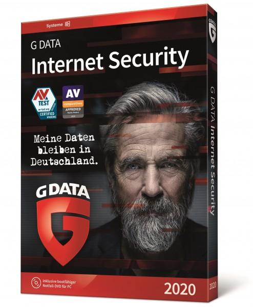 G DATA Internet Security Multi Device 2020, 2-3 Jahre, Vollversion