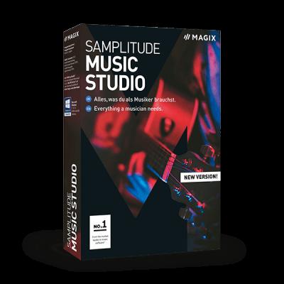 Magix Samplitude Music Studio 2019, Vollversion