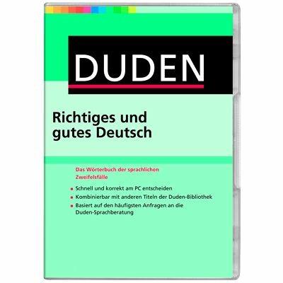 Duden Richtiges und gutes Deutsch 9 Windows