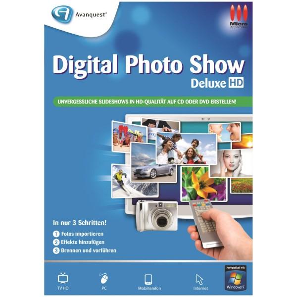 Avanquest Digital PhotoShow Deluxe, Vollversion