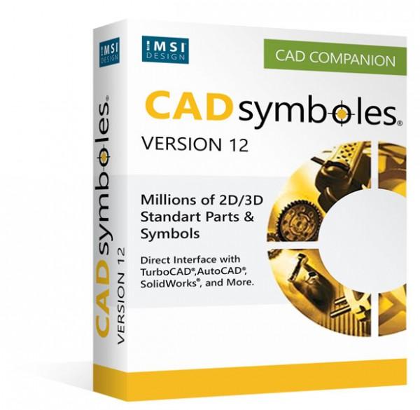 TurboCAD- CAD Symbols 12, English