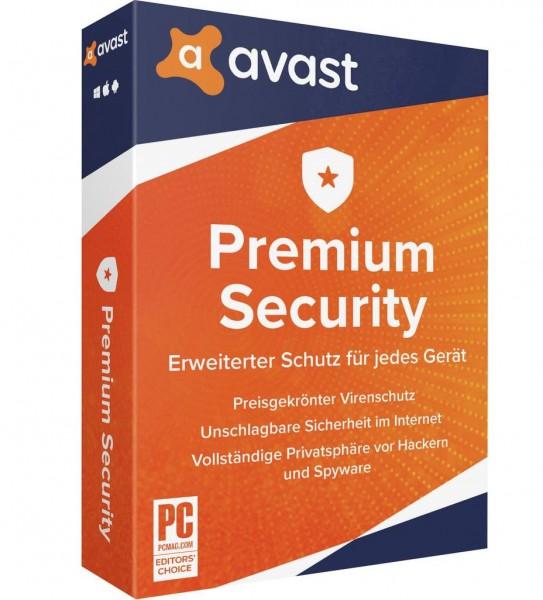 Avast Premium Security 2020 Multi Device Sofortdownload