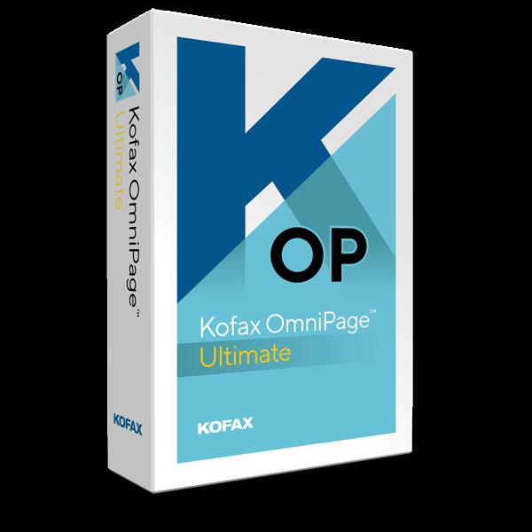 Kofax OmniPage Ultimate
