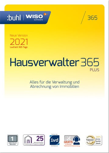 WISO Hausverwalter 365 Plus (Version 2021)