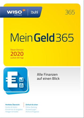 WISO Mein Geld 365 Vers.2020 Laufzeit 365 Tage, Box