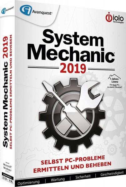 iolo System Mechanic 2019 unlimitierte Geräte