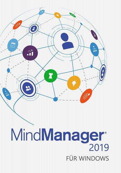 MINDJET ESD MindManager 2019 for Windows Upgrade - Single - for customers on MM2018 or MM2017