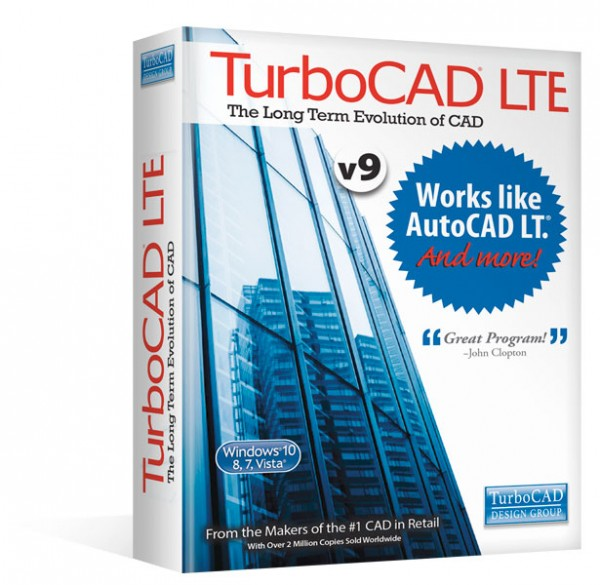 TurboCAD LTE V9, English