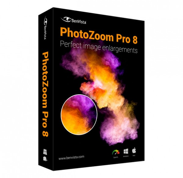 PhotoZoom Pro 8 Win/Mac