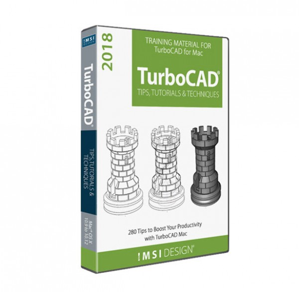 2D/3D Training Guides TurboCAD Mac, English