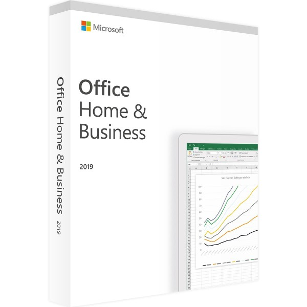 Microsoft Office 2019 Home and Business Win/Mac Vollversion Multilanguage