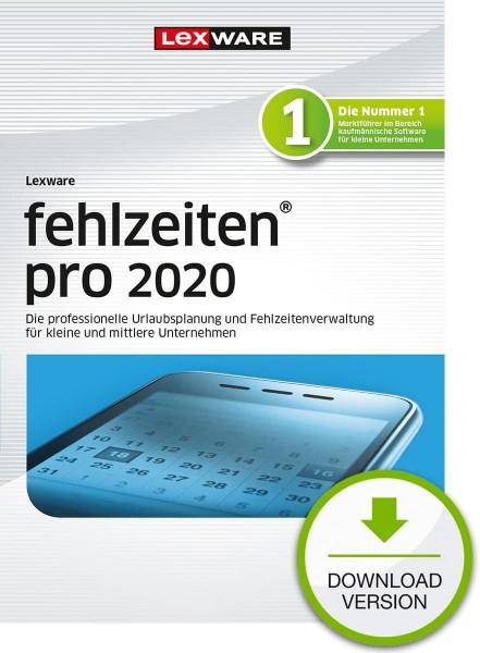 Lexware Fehlzeiten Pro 2020, 365 Tage Laufzeit, Download