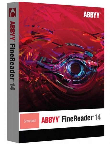 ABBYY FineReader 14 Standard, 1 User, WIN, Vollversion