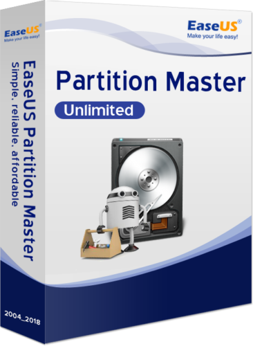 EaseUS Partition Master Unlimited 14.5 Vollversion