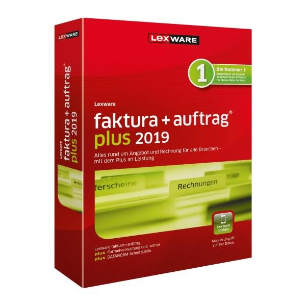 Lexware Faktura+Auftrag Plus 2019, 365 Tage Laufzeit, [Download]