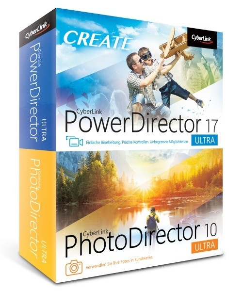 Cyberlink PowerDirector 17 Ultra & PhotoDirector 10 Ultra Duo Vollversion