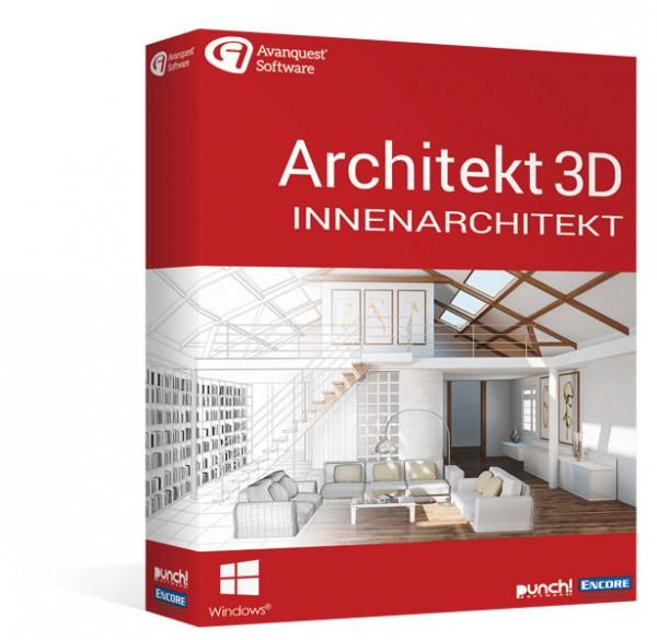 Avanquest Architekt 3D 20 Innenarchitekt MacOS