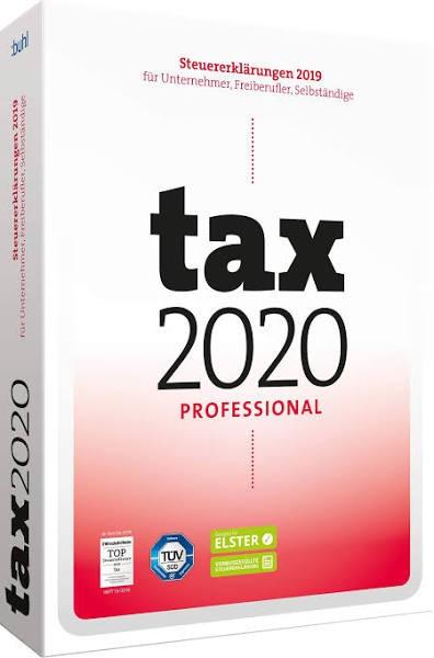 Tax 2020 Professional, für die Steuererklärung 2019, Box