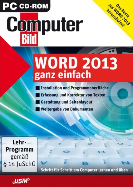 USM ComputerBild Word 2013 ganz einfach