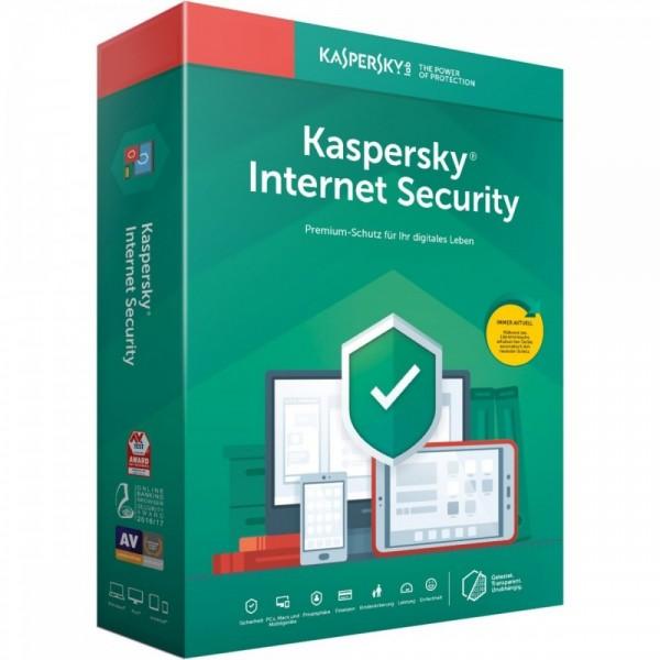 Kaspersky Internet Security 2020, 3 Geräte, 1 Jahr, Vollversion