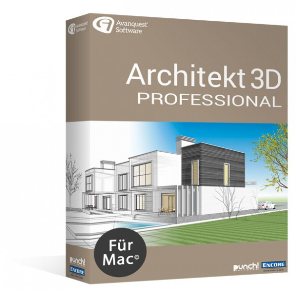 Avanquest Architekt 3D 20 Professional MacOS