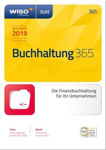 WISO Buchhaltung 365 [2020], 1 Jahreslizenz, Vollversion, [Download]