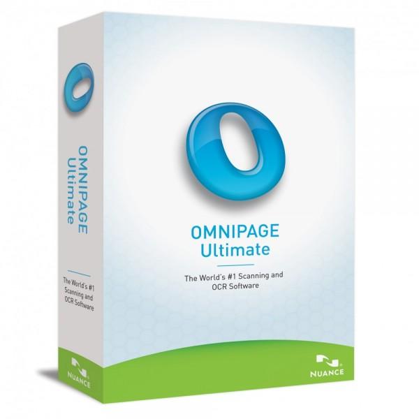 Nuance Omnipage 19 Ultimate Multilanguage Vollversion
