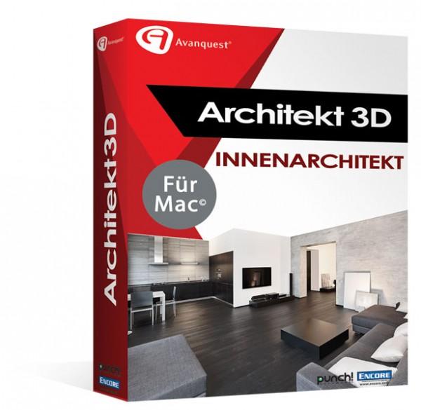 Avanquest Architekt 3D X9 Innenarchitekt MAC
