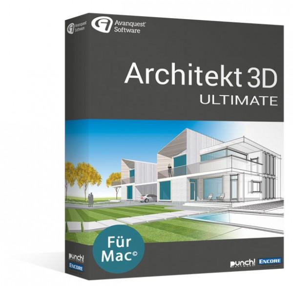 Avanquest Architekt 3D 20 Ultimate MacOS