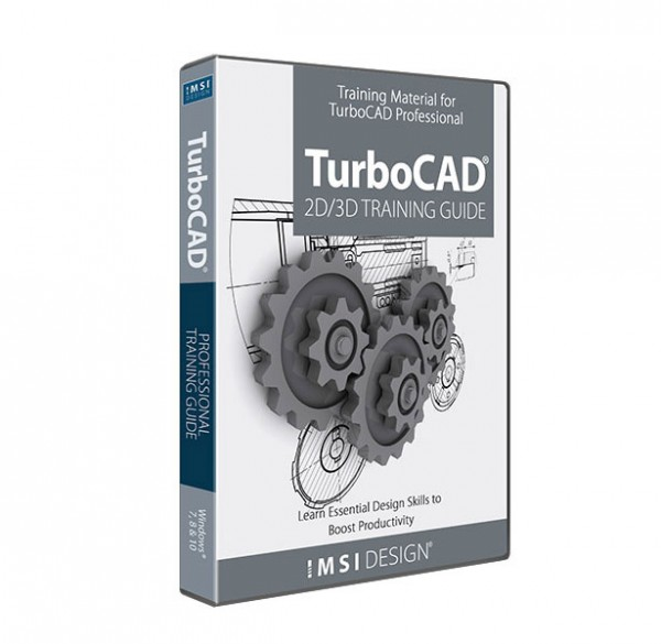 2D/3D Training Guides for TurboCAD 2020 Professional, English