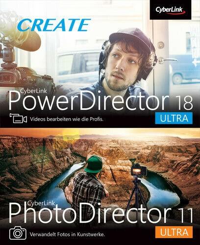 PowerDirector 18 + PhotoDirector 11 Duo