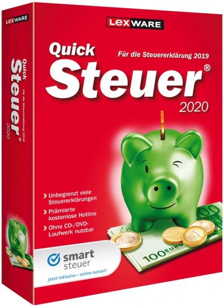 Lexware QuickSteuer 2020, für die Steuererklärung 2019