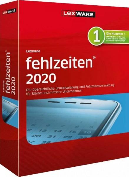 Lexware Fehlzeiten 2020, 365 Tage Laufzeit, Download
