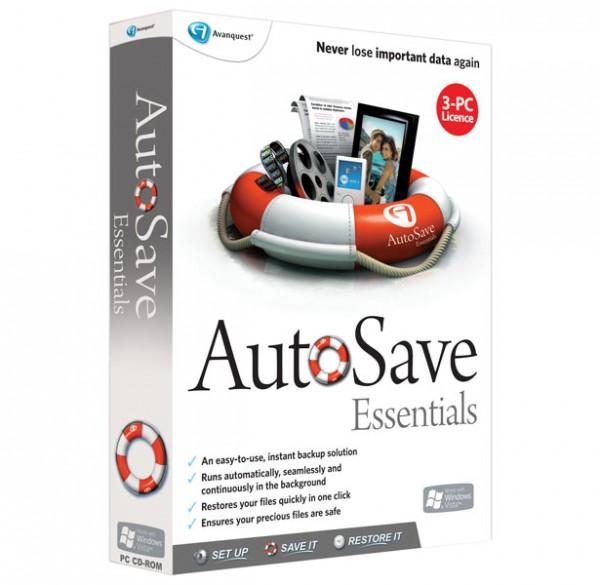 Avanquest Autosave Essentials, Win