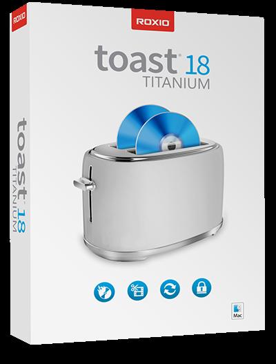 Roxio Toast 18 Titanium, MAC
