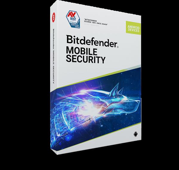 Bitdefender Mobile Security 2020 1 Gerät Handy, Tablet, Android