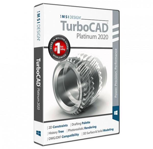 TurboCAD 2020 Platinum, English