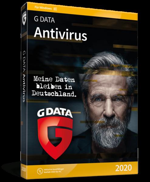 G DATA Antivirus 2020, 1 Jahr, Sofort