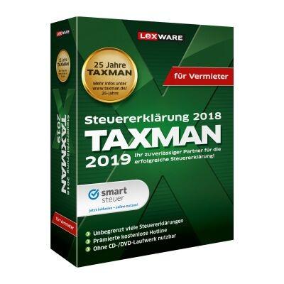 Lexware Taxman 2019 für Vermieter
