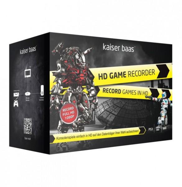 Kaiser Baas Game Recorder HD