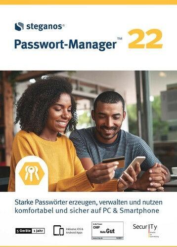 Steganos Passwort-Manager 22