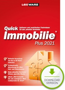 Lexware QuickImmobilie Plus 2021