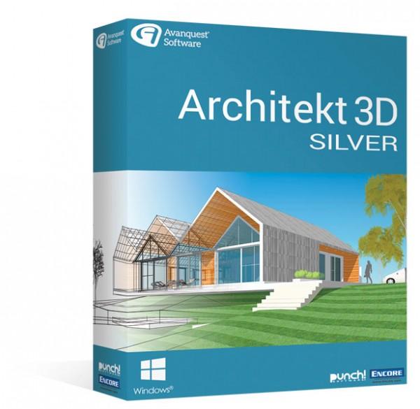 Avanquest Architekt 3D 20 Silver Windows