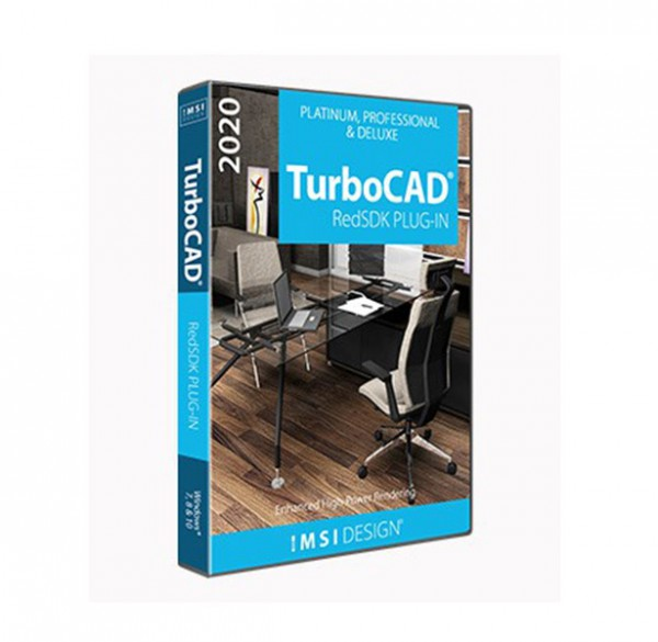 RedSDK Plug-in for TurboCAD 2020, English
