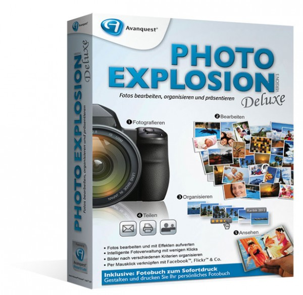 Avanquest Photo Explosion 5 Deluxe