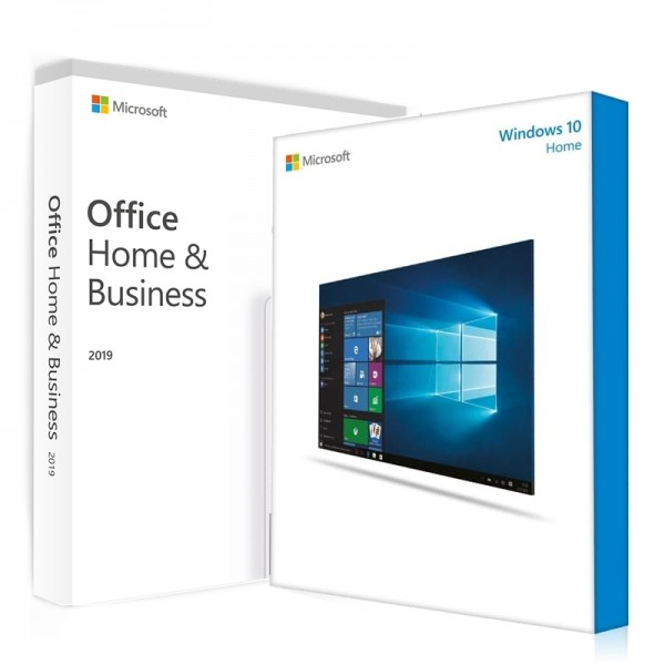 Windows 10 Home + Office 2019 Home & Business