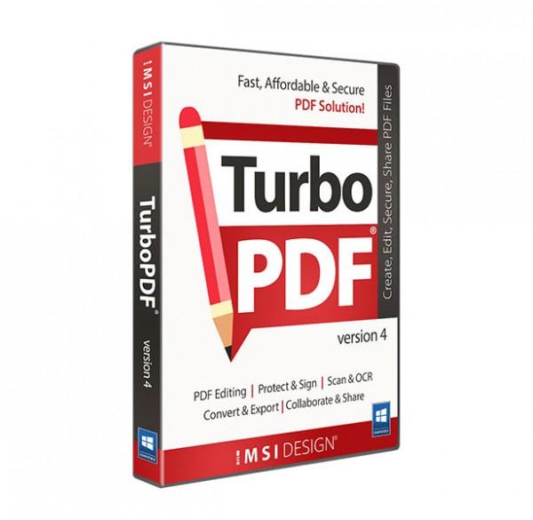 TurboPDF v4, English