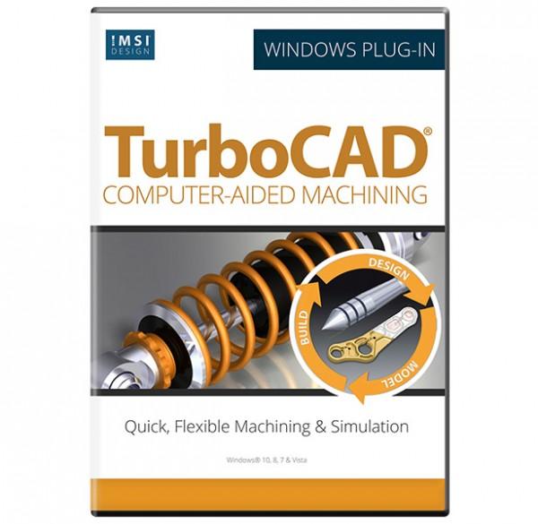 CAM Plug-in for TurboCAD Platinum 2019/2020, English
