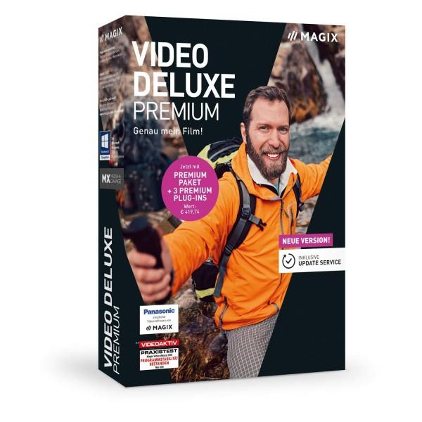 MAGIX Video Deluxe 2019 Premium, Win