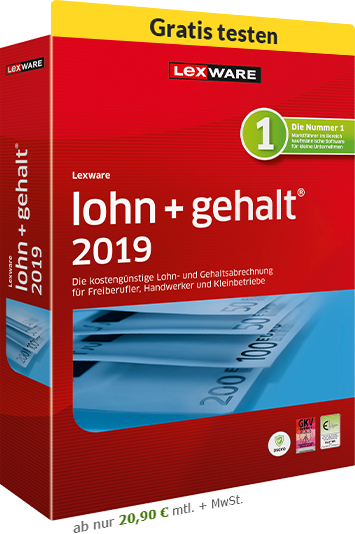 Lexware Lohn + Gehalt 2019